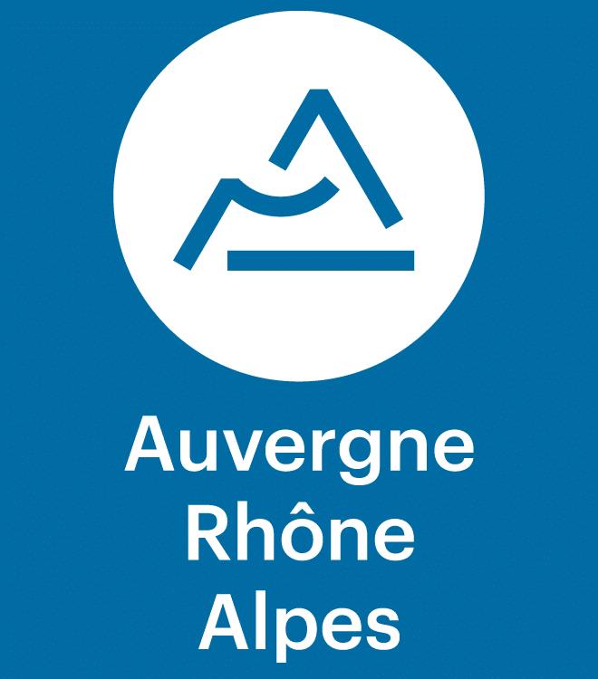 Logo de la région Auvergne-Rhone Alpes