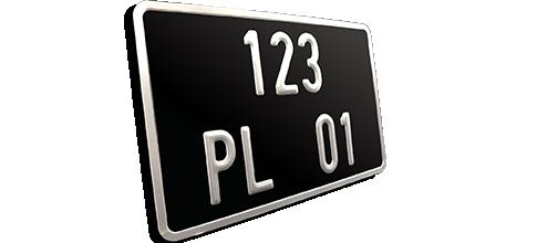 plaque moto collection ancienne immatriculation plaque go. Black Bedroom Furniture Sets. Home Design Ideas